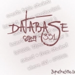 Database Courses – 1 (Introduction)