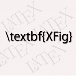 xFig ve Latex